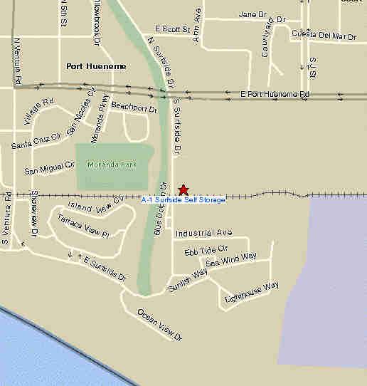 Malibu Map